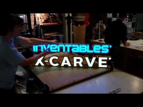 Making an Illuminated Sign with Inventables X-Carve and Adobe Illustrator