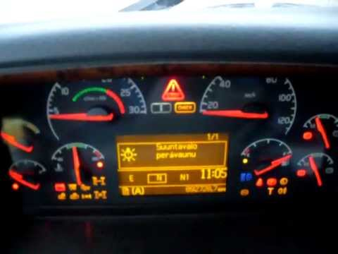 My truck Volvo FH12 460 cabin inside. - YouTube