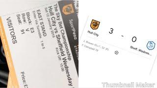 Embarrassing! Sheffield Wednesday vs Hull City vlog!