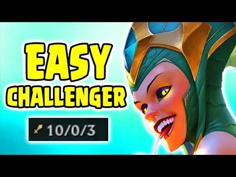 Challenger Carry FNC Noway4u | Cassiopeia Gameplay (Deutsch/German) League Of Legends