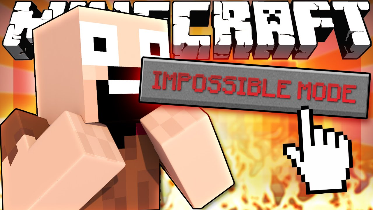 Download If IMPOSSIBLE MODE Was Added to Minecraft