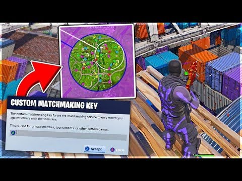 fortnite matchmaking keyboard and mouse