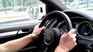 Смотреть обязательно тем, кто желает купить Ауди Ку 7 (Audi Q7). Тест драйв Audi Q7