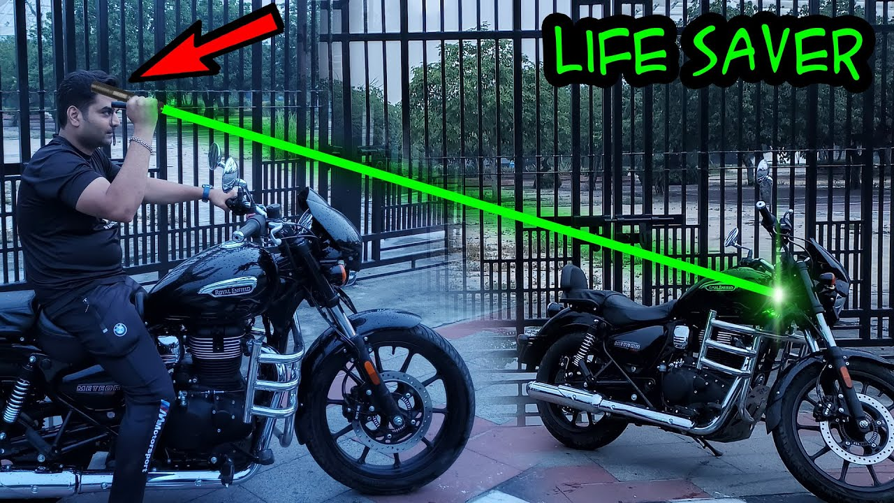 This green laser can save your life