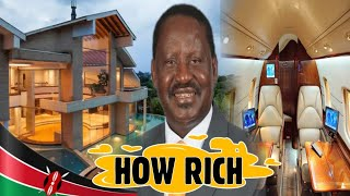 🔥HOW RICH IS RAILA 🔥TOP TEN MOST EXPENSIVE THINGS OWNED BY RAILA OWNS🔥KENYAN RICHEST MEN