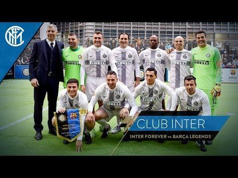 d8b45ab4a INTER FOREVER vs BARÇA LEGENDS | INTERVIEWS WITH THE NERAZZURRI STARS! |  Club Inter