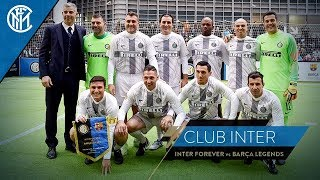 INTER FOREVER vs BARÇA LEGENDS | INTERVIEWS WITH THE NERAZZURRI STARS! | Club Inter