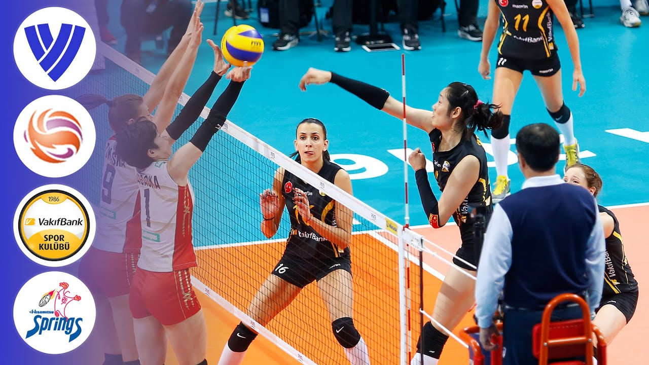 VakifBank Istanbul vs. Hisamitsu Springs - FULL | Women's Volleyball Club World Championship 16