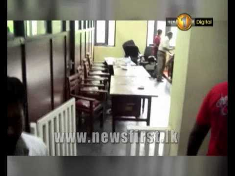 News1st  Clash between administrative officers and local govt representatives at Panadura UC