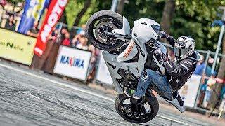 CBR1000RR Stunts by Joona Vatanen - Czech Stunt Day 2017