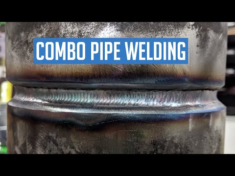 Combo Pipe Welding | 2G TIG Root, 7018 Fill Cap