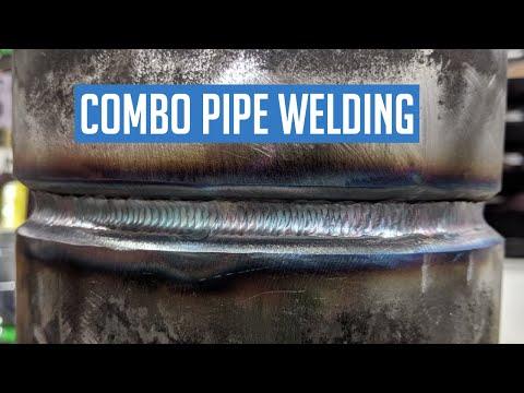 Combo Pipe Welding 2g Tig Root 7018 Fill Cap Youtube