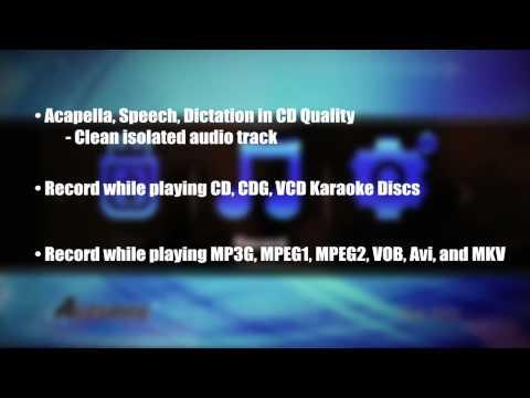Acesonic BDK-2000 Multi-Format Karaoke Player