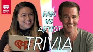 James Van Der Beek Goes Head to Head With His Biggest Fan! | Fan Vs Artist Trivia