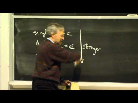 Covalent Bonds, Hydrogen Bonds   MIT 7.01SC Fundamentals of Biology