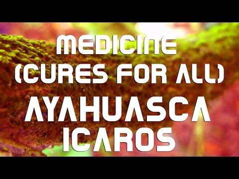 "AYAHUASCA - ICAROS - ""Medicine, (cure for all)"""