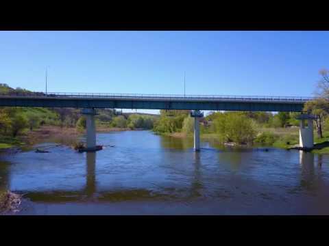 Восстановленный мост Лисичанск-Северодонецк
