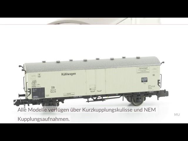 Modellbahn Union Fährbootkühlwagen Spur N