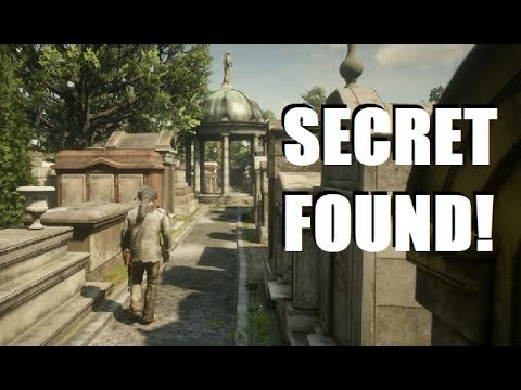 Hidden SECRET FOUND Inside the Saint Denis Cemetery in Red Dead Redemption 2! thumbnail