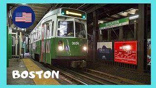 BOSTON, riding the SUBWAY (THE