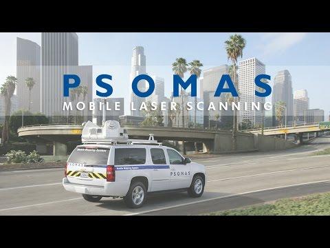 Psomas Mobile Laser Scanning System