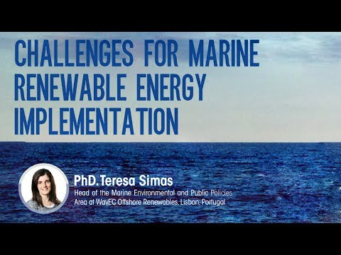 Challenges for marine renewable energy implementation