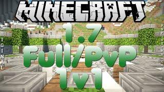 Divulgação de Server Minecraft 1.7.9/1.7.10 Full/PvP e 1v1 / Ep.155