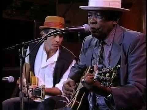"John Lee Hooker with Ry Cooder ""Hobo Blues"" 1990"