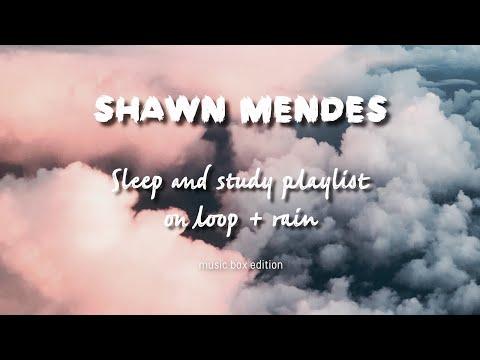 Study And Sleep Music Box + Rain Playlist X Shawn Mendes