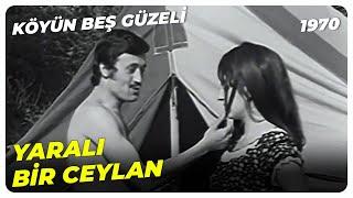 Şehirliler Köyde Kamp Yapıyor - Köyün Beş Güzeli 1970 | Berna Egeli Selami Şahin