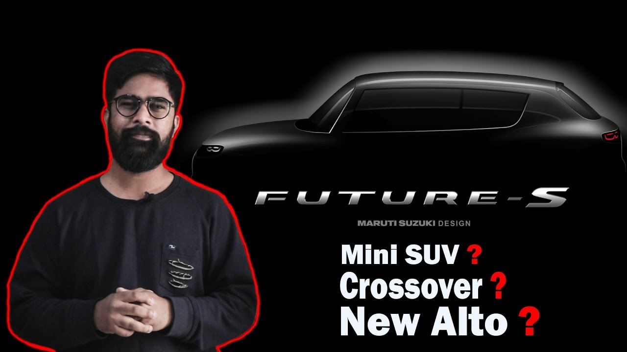 Maruti Suzuki Future S New Small Suv Concept Icn Studio Youtube