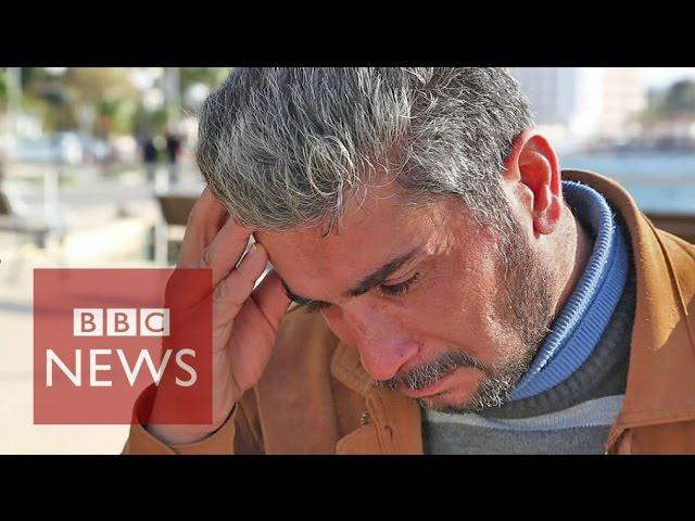 'My family drowned': Syrian refugee on terrible cost of fleeing IS  - BBC News