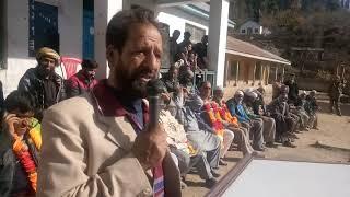 Congress worker mohd abdullah openly critised xMla inderwal GM saroori