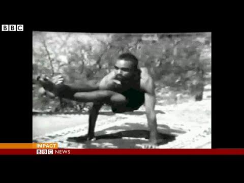 India yoga guru BKS Iyengar dies aged 95, BBC News