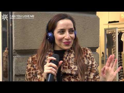 Marco Cignoli - Can you love me ft. Leslie&Luca (Street Karaoke in Milan)