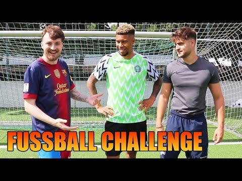EPISCHE FUSSBALL CHALLENGE vs. ELI & SIDNEY ⚽ | ViscaBarca