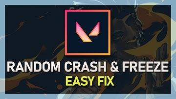 Valorant - How To Fix Random Freeze & Crashes