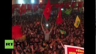 Turkey: PKK hold party for jailed leader's birthday