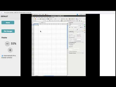 filemanager for openoffice online