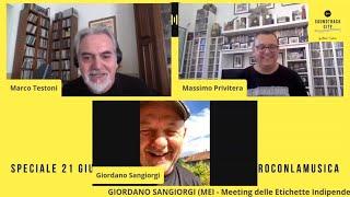 Giordano Sangiorgi - Soundtrack City in Pillole #18