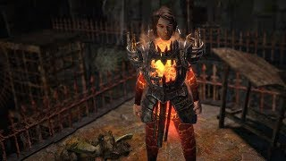 Path of Exile: Pyre Knight Body Armour