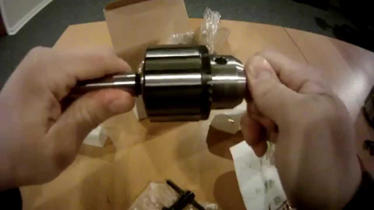 Psi Woodworking Lathe Drill Chuck Youtube