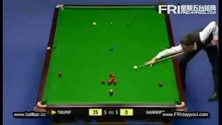 Snooker The Masters 2013 - Judd Trump vs Barry Hawkins 5 - 11
