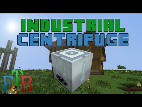 FTB :: How To Make :: Industrial Centrifuge + Silicon Cells