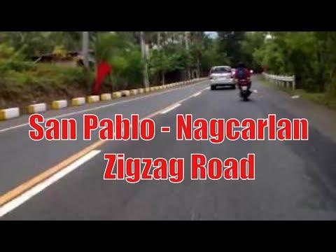 San Pablo - Nagcarlan, Laguna Zigzag Road