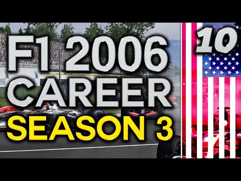 F1 2006 Career Mode S3 Part 10: US Grand Prix (Indy)