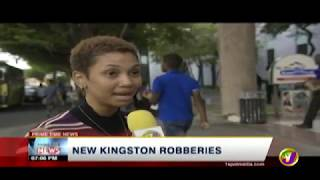 TVJ News Today: Bike Robbers Plague New Kingston - July 29 2019