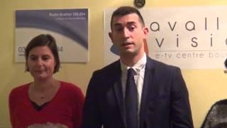 Élections cantonales 2015 - Xavier COURTOIS et Sonia PATOURET - Édition 2015 à Avallon (89)