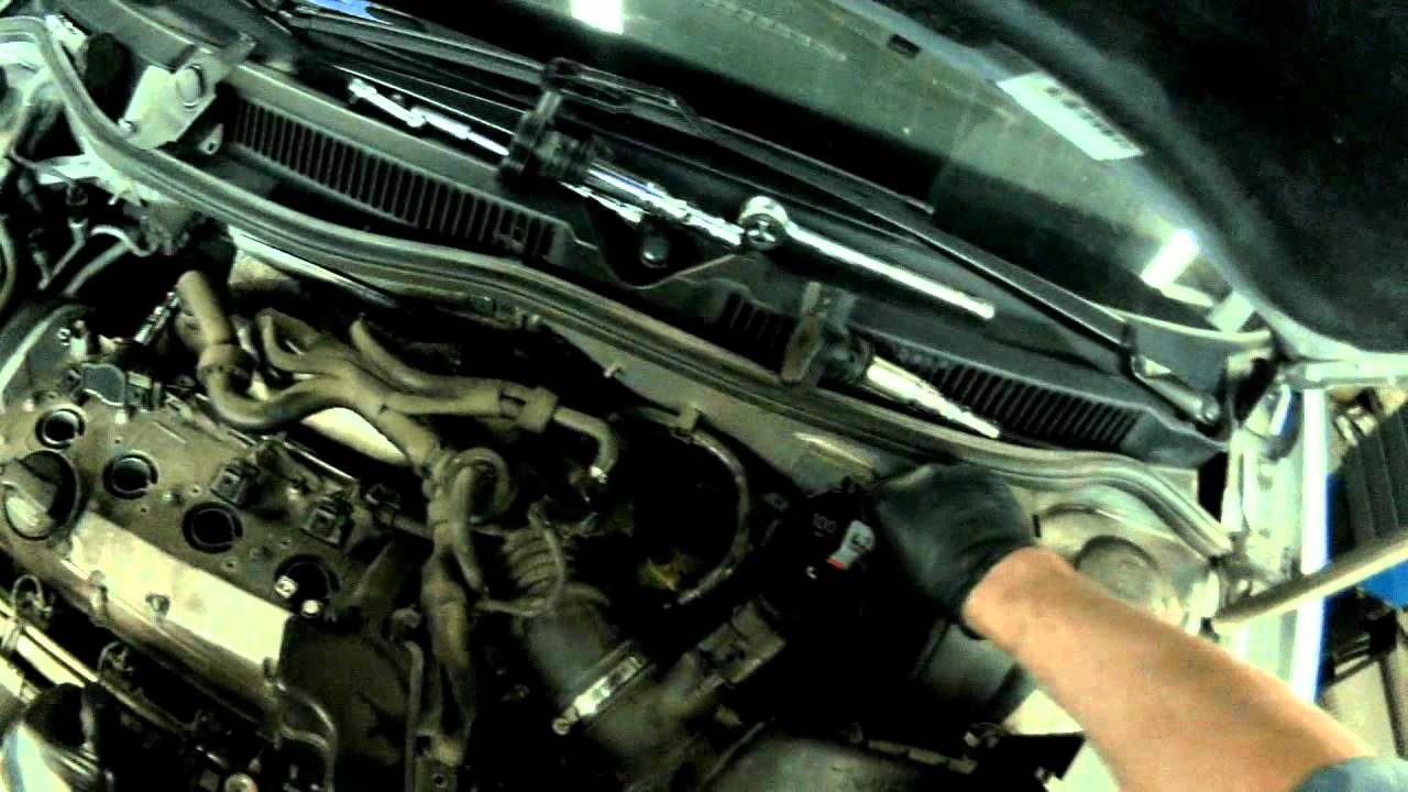 2005 Audi A4 Engine Diagram Remove Ecm Relay To Prevent Fault Codes From Setting Youtube
