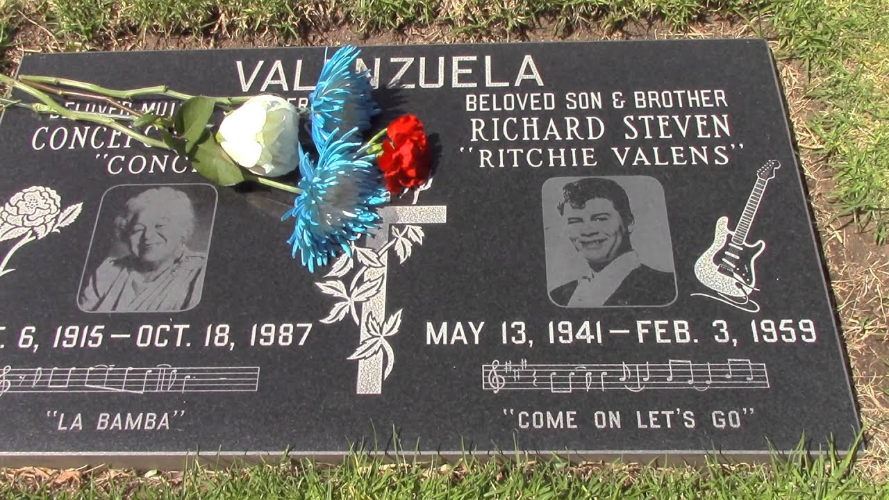 Ritchie Valens' Final Resting Place- Part #8 - YouTube